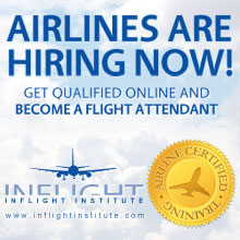 Airlines are Hiring Now! - Get Qualified Online and Become a Flight Attendant
