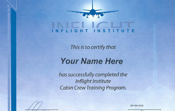 Inflight Institute Certificate